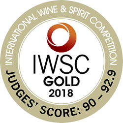 VS  IWSC2018 Gold Medal